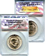CollecTons Keepers #19 1954-S Carver/Washington Half BU