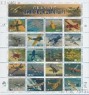 1997 Classic American Aircraft 32 Cent US Postage Stamp MNH Sheet of 20 Scott #3142