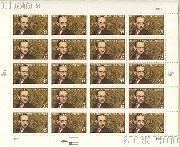 1998 Literary Arts Series - Stephen Vincent Benet 32 Cent US Postage Stamp MNH Sheet of 20 Scott #3221