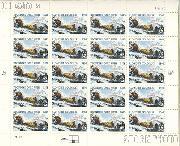1998 Klondike Gold Rush Centennial 32 Cent US Postage Stamp MNH Sheet of 20 Scott #3235