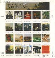 1998 American Art 32 Cent US Postage Stamp MNH Sheet of 20 Scott #3236