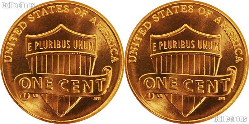 2018 P&D Lincoln Shield Cent - Union Shield Cents