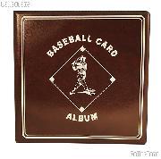 Baseball Card Album by BCW 3 Ring Trading Card Album in Burgundy