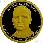 2015-S Harry S. Truman Presidential Dollar GEM PROOF Coin