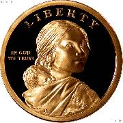 2009-S Native American Dollar GEM Proof 2009 Sacagawea Dollar SAC