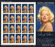 1995 Marilyn Monroe - Legends of Hollywood Series 32 Cent US Postage Stamp MNH Sheet of 20 Scott #2967