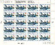 1995 U.S. Naval Academy 150th Anniversary 32 Cent US Postage Stamp MNH Sheet of 20 Scott #3001