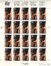 1996 Breast Cancer Awareness 32 Cent US Postage Stamp MNH Sheet of 20 Scott #3081