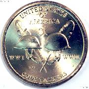 Native American Dollar (2016) One Coin Brilliant Uncirculated Condition