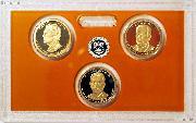 2016 PRESIDENTIAL DOLLAR PROOF SET * 3 Coin U.S. Mint Proof Set
