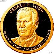 2016-S Gerald R. Ford Presidential Dollar GEM PROOF Coin
