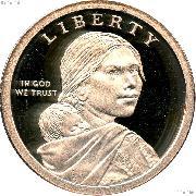 2016-S Native American Dollar GEM Proof 2016 Sacagawea Dollar SAC