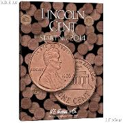 Harris Lincoln Cents Starting 2014 Coin Folder 4002