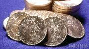 1883 BU Morgan Silver Dollars from Original Roll