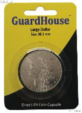 Guardhouse Coin Capsule Direct Fit Coin Holder for LARGE DOLLARS
