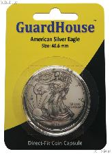 Guardhouse Coin Capsule Direct Fit Coin Holder for SILVER EAGLES