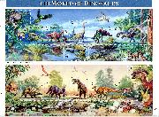 1997 The World of Dinosaurs 32 Cent US Postage Stamp MNH Sheet of 15 Scott #3136