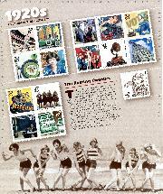 1998 1920s Celebrate the Century 32 Cent US Postage Stamp Unused Sheet of 15 Scott #3184
