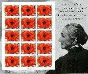 1996 Georgia O'Keeffe 32 Cent US Postage Stamp MNH Sheet of 15 Scott #3069