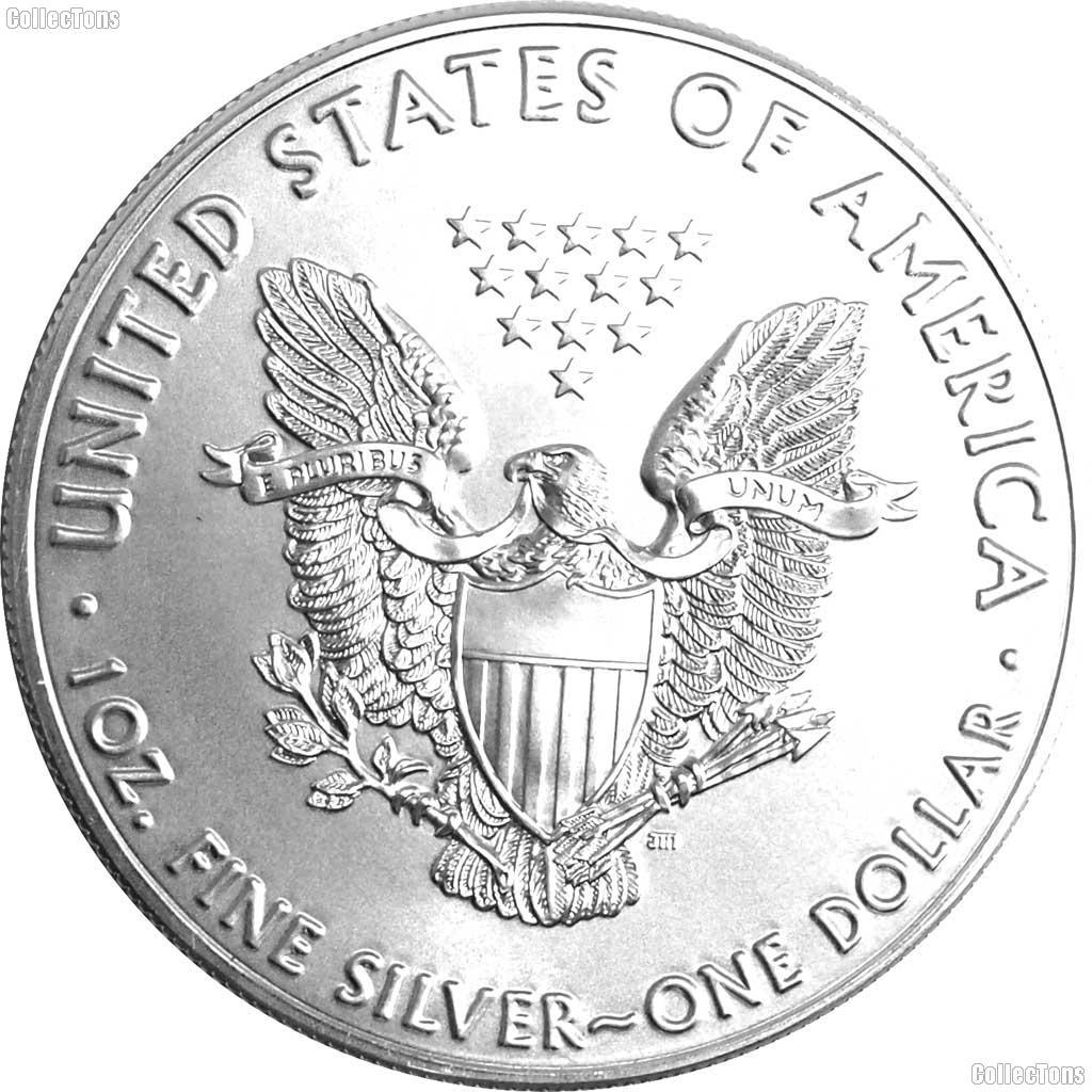 2017 American Silver Eagle Dollar Bu 23 49