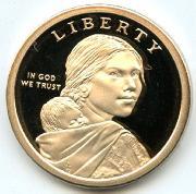 2017-S Native American Dollar GEM PROOF 2017 Sacagawea Dollar SAC