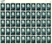 1984 Herman Melville 20 Cent US Postage Stamp MNH Sheet of 50 Scott #2094