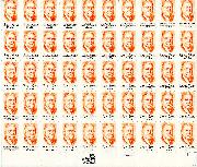1984 Horace Moses 20 Cent US Postage Stamp MNH Sheet of 50 Scott #2095
