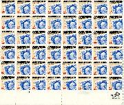 1985 Ameripex 22 Cent US Postage Stamp MNH Sheet of 48 Scott #2145