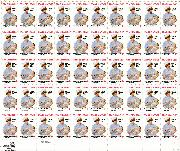 1981 American Red Cross 18 Cent US Postage Stamp MNH Sheet of 50 Scott #1910