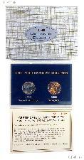 """The Millennium Dollars"" Limited Edition 2 Coin BU Set"