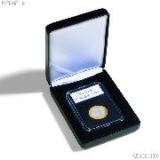 Leatherette Coin Display Box for 1 Certified Slab by Lighthouse NOBILE