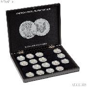 Coin Display Case for 20 American Silver Eagle Dollars by Lighthouse