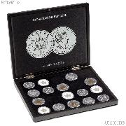 Coin Display Case for 20 Canadian Maple Leaf Silver Dollars by Lighthouse