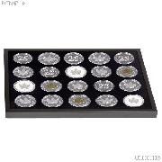 Coin Tray for 20 Morgan or Canadian Maple Leaf Silver Dollars by Lighthouse