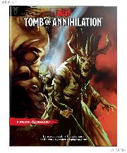 D&D Tomb of Annihilation - Dungeons and Dragons Book