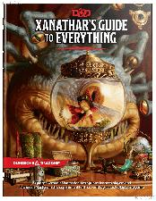 D&D Xanathar's Guide to Everything - Dungeons and Dragons Book