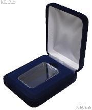 Blue Velvet Box for 1 oz Bar Capsule