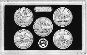 2018 QUARTER SILVER PROOF SET * ORIGINAL * 5 Coin U.S. Mint Silver Proof Set