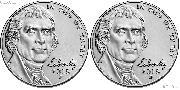 2018 P & D Jefferson Nickels Gem BU (Brilliant Uncirculated)