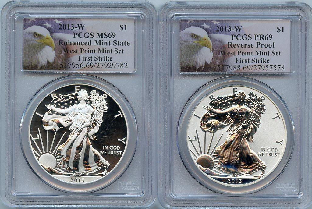 2013-S PCGS PR69DCAM proof William McKinley dollar FIRST STRIKE