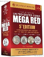 Whitman MEGA Red Book of United States Coins 2020 - Deluxe 5th Edition