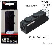 SE Mini Zoom 60x-100x Microscope LED Illuminated