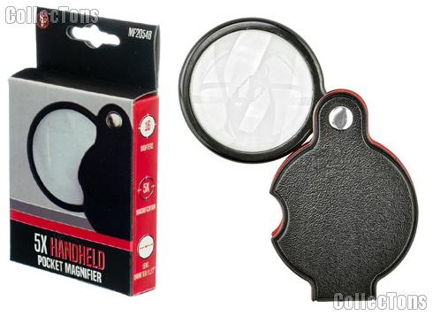 SE Foldaway 5X Pocket Magnifier with Pouch