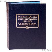 State, D.C. & Territory P and D Quarters Whitman Classic Album #2821