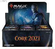 MTG Core Set 2021 - Magic the Gathering Booster Factory Sealed Box