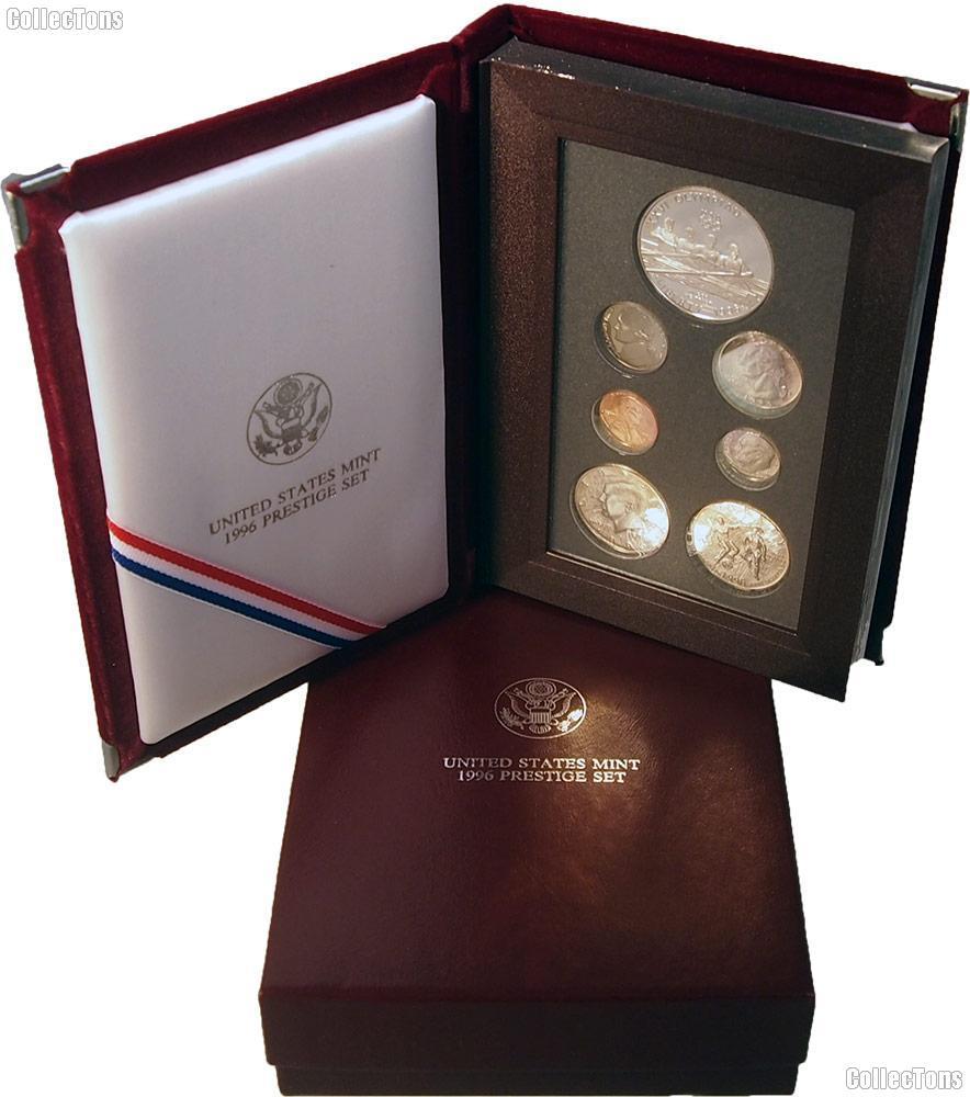 1996 Prestige Proof Set - 7 Coins - The Key Set