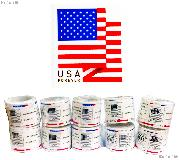 1,000 Forever Stamps $550 Face Value 10 rolls of 100