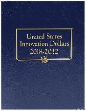 U.S. Innovation Dollars 2018 - 2032 Whitman Classic Type Set Album #4711