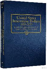 U.S. Innovation Dollars P & D 2018 - 2025 Whitman Classic Album #4788