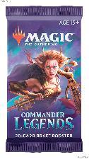 MTG Commander Legends - Magic the Gathering DRAFT Booster Pack